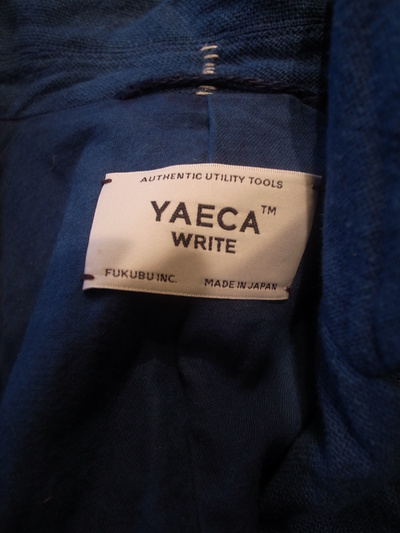 YAECA(ヤエカ) Write /  Atrier Coat Blue_e0248492_21461877.jpg