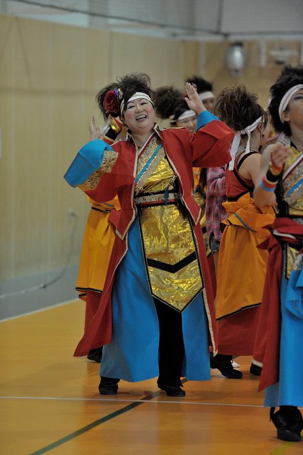 銀輪舞隊(臨時公開演舞)_f0184198_23391422.jpg