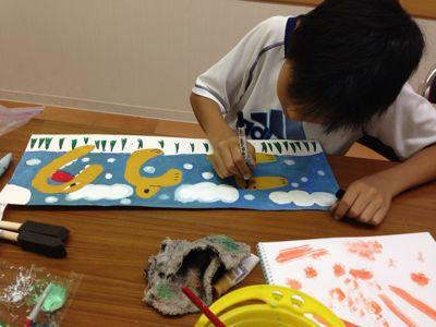 かぼちゃを描こう〜城陽教室〜_f0215199_1201925.jpg
