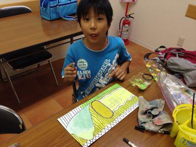 かぼちゃを描こう〜城陽教室〜_f0215199_1202056.jpg