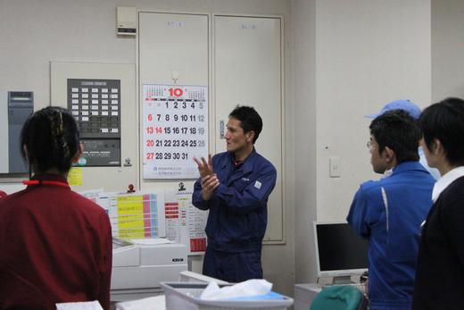 AED講習会および避難訓練と消火器の使い方講習会_d0063218_11234031.jpg