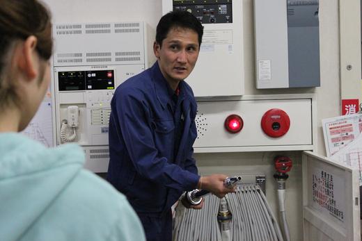 AED講習会および避難訓練と消火器の使い方講習会_d0063218_11283162.jpg
