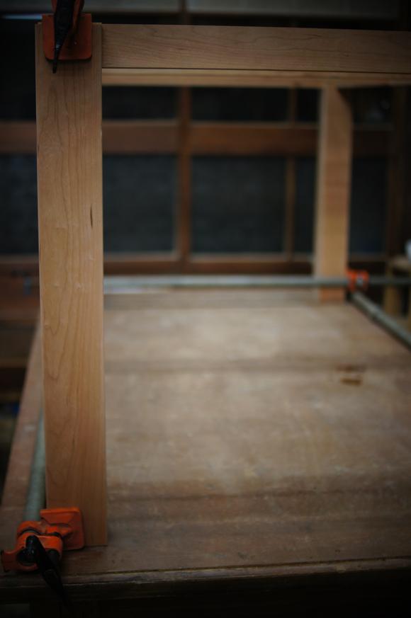 ブラックチェリーのダイニングテーブル_a0122528_19433966.jpg