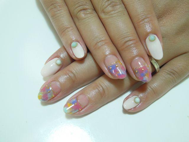 Marble Nail_a0239065_1519550.jpg