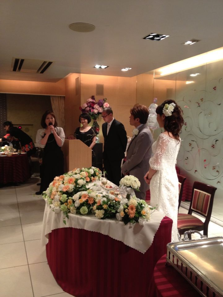 結婚式♩_c0151965_142901.jpg