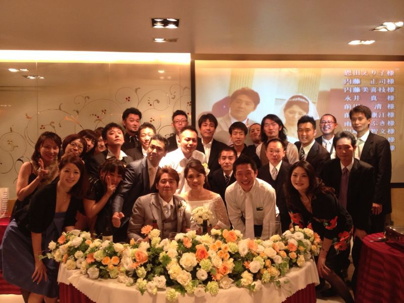 結婚式♩_c0151965_1429566.jpg