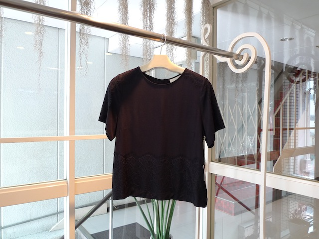 GIRL. BY BAND OF OUSIDERS TWILL TOP WITH LACE_f0111683_16511555.jpg