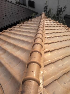 豊島区の高松で瓦屋根修理_c0223192_21495920.jpg