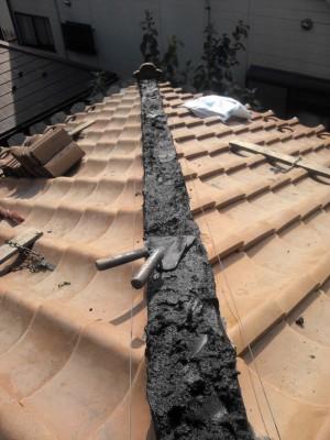 豊島区の高松で瓦屋根修理_c0223192_21574295.jpg