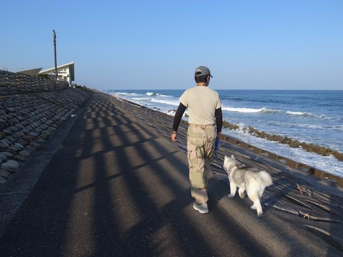 はなちゃん太平洋を見る_c0049299_20125636.jpg