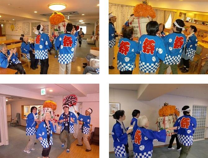 『秋祭り』イベント<アクティブライフ神戸・はちみつじかん>_c0107602_10101766.jpg
