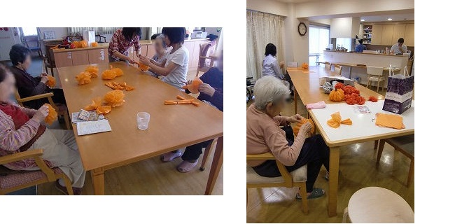 『秋祭り』イベント<アクティブライフ神戸・はちみつじかん>_c0107602_1094815.jpg