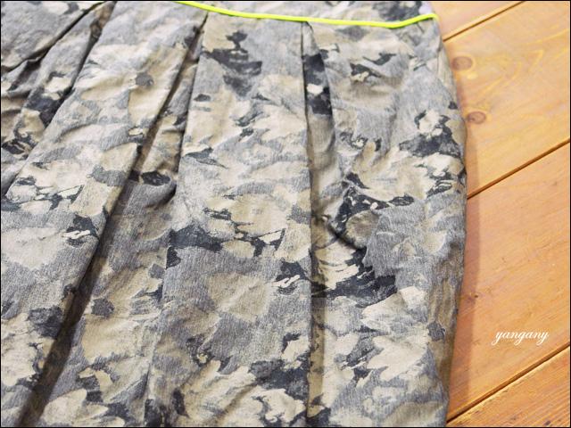 yangany [ヤンガニー] インポートジャガードタックコクーンスカート [F5329] _f0051306_17323037.jpg