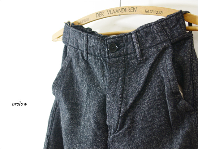orslow[オアスロウ] FRENCH WORK PANTS WOOL HERRING BONE [03-5000]_f0051306_1735721.jpg