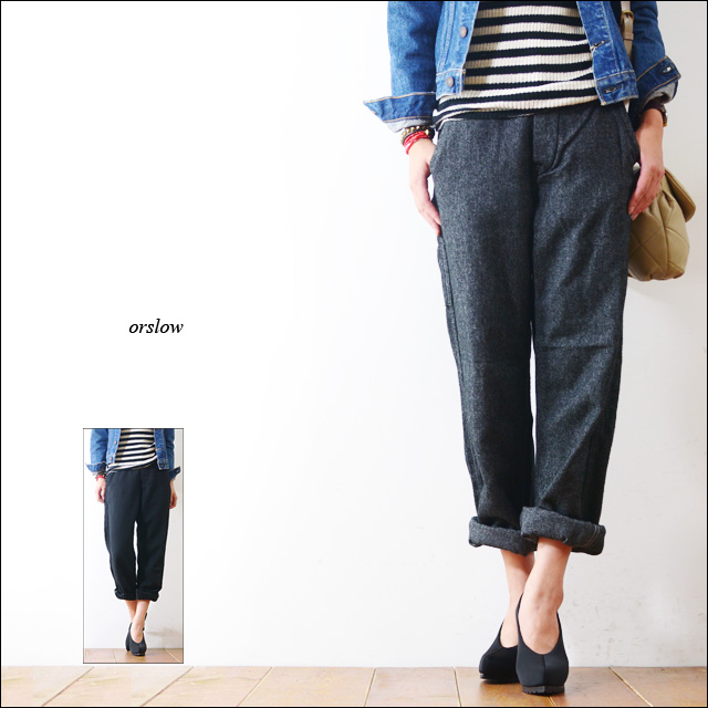 orslow[オアスロウ] FRENCH WORK PANTS WOOL HERRING BONE [03-5000]_f0051306_1735892.jpg