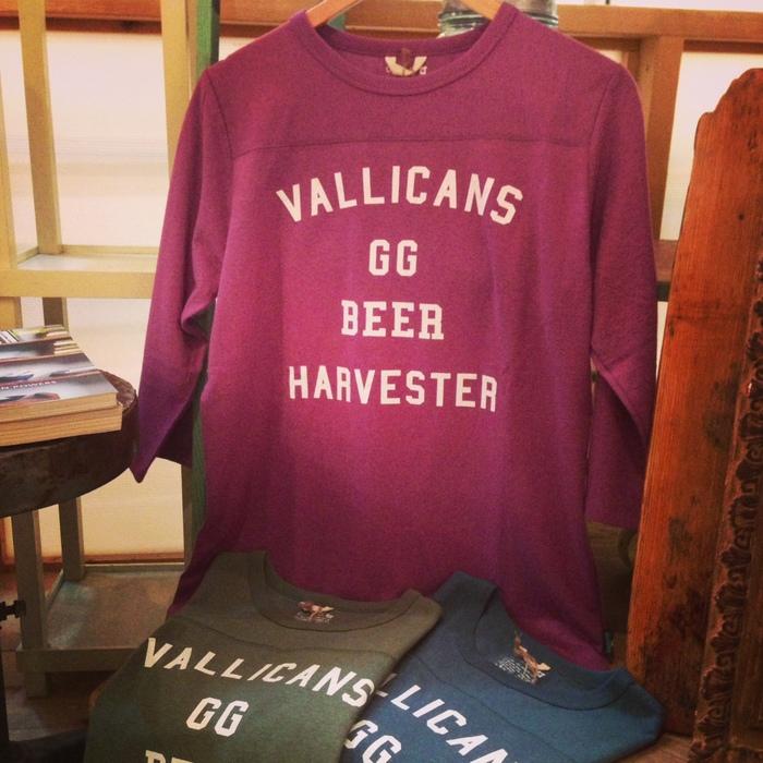 VALLICANS GG BEER FOOTBALL TEE バリカンズ / TACOMA FUJI RECORDS_c0222907_1825512.jpg