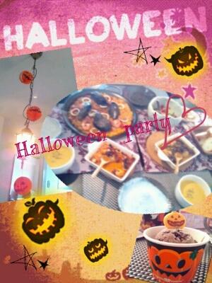 Halloween party★_e0101244_21501643.jpg