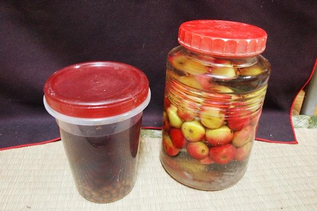 オオウラジロノキの果実酒_b0227552_20471546.jpg