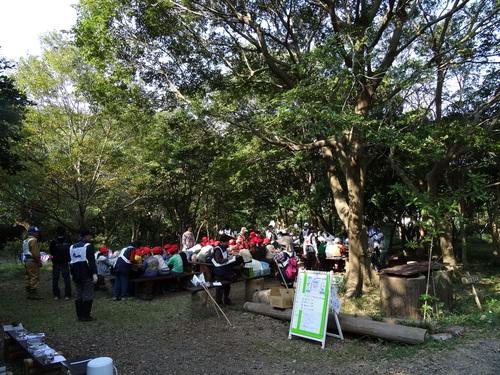 岸和田市立東光小学校遠足サポート   in  せんなん里海公園うみべの森_c0108460_19583753.jpg