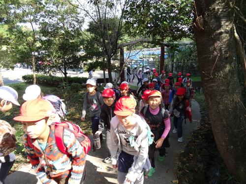 岸和田市立東光小学校遠足サポート   in  せんなん里海公園うみべの森_c0108460_2035980.jpg