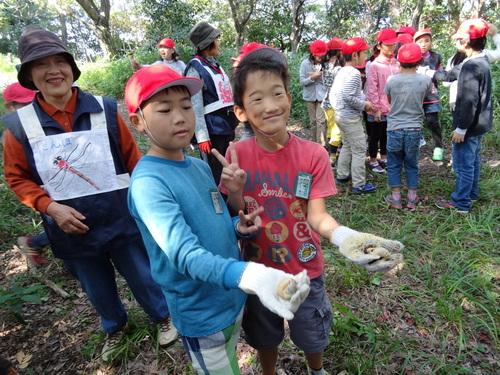 岸和田市立東光小学校遠足サポート   in  せんなん里海公園うみべの森_c0108460_20431961.jpg