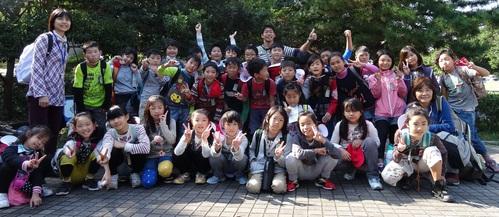 岸和田市立東光小学校遠足サポート   in  せんなん里海公園うみべの森_c0108460_20535637.jpg