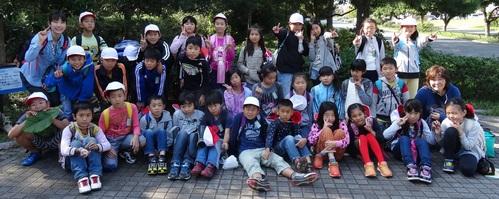 岸和田市立東光小学校遠足サポート   in  せんなん里海公園うみべの森_c0108460_20541040.jpg