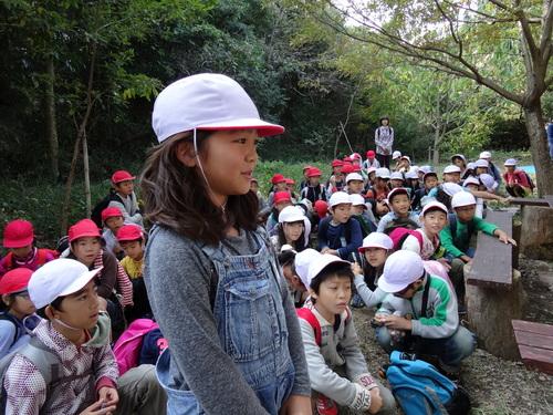 岸和田市立東光小学校遠足サポート   in  せんなん里海公園うみべの森_c0108460_2063184.jpg