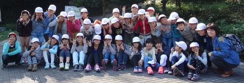 岸和田市立東光小学校遠足サポート   in  せんなん里海公園うみべの森_c0108460_2073075.jpg