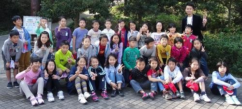 岸和田市立東光小学校遠足サポート   in  せんなん里海公園うみべの森_c0108460_2075074.jpg