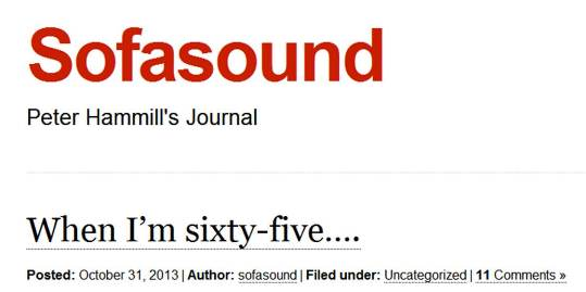 "Sofa Sound Journal 2013 Oct. issue ""When I\'m sixty-five...\""_b0009391_12364098.jpg"