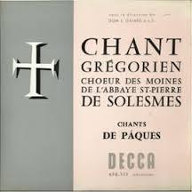 グレゴリオ聖歌の響きに包まれて †_c0203401_1591698.jpg
