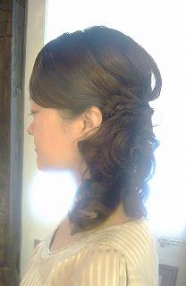 巻き髪なヘアーセット_a0123703_1157831.jpg