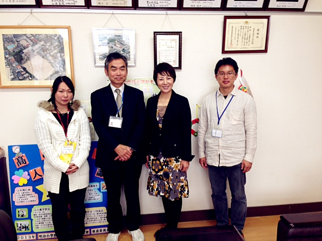 奈良市立明治小学校を訪問!_c0162404_2317253.jpg