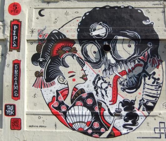 グラフィティの聖地、ファイブ・ポインツ(5 Pointz)にも日本文化の影響が_b0007805_20123174.jpg