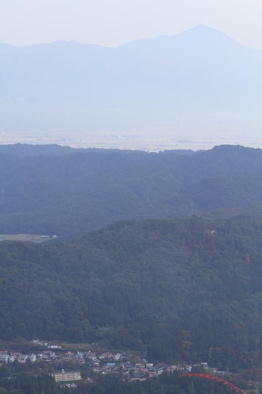 彼方に磐梯山を望む白煙 - 2013年秋・只見試運転 -  _b0190710_3284792.jpg