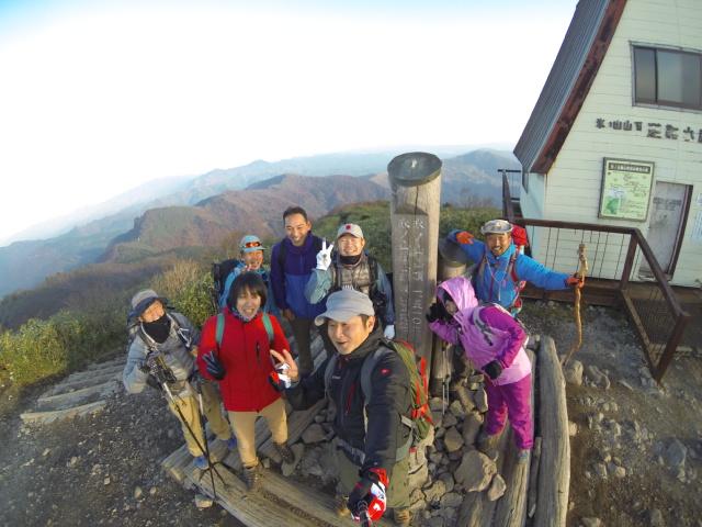御来光登山 【 11月2日 】_f0101226_1211442.jpg