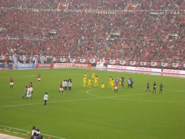 ヤマザキナビスコカップ決勝に行ってきた。_f0232060_2263169.jpg