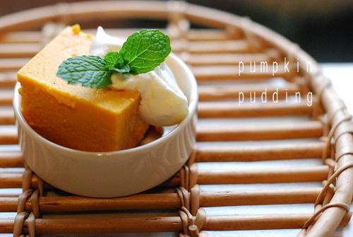 ピーナッツバターかぼちゃのプリン_d0091671_2123078.jpg