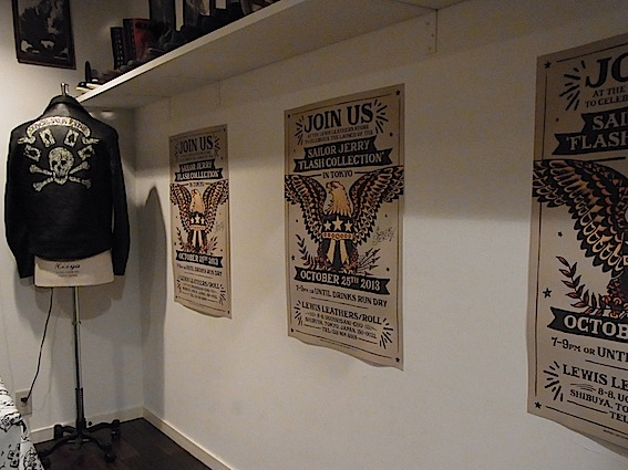 LewisLeathers×SAILOR JERRY launch party._a0145275_12473978.jpg