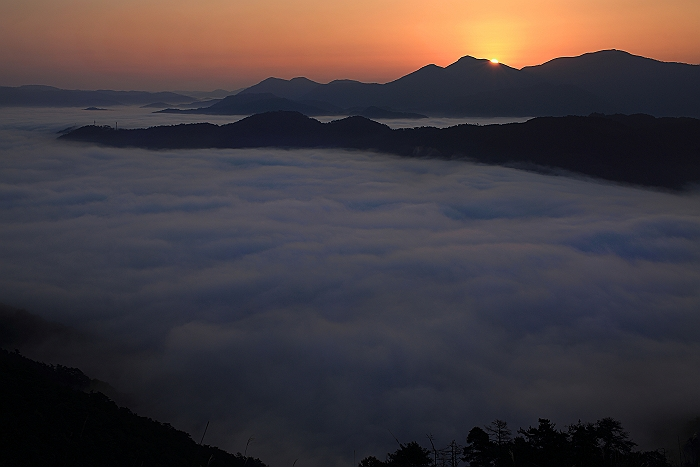 """荒谷山の雲海&星"" NO.5_a0140608_21153212.jpg"