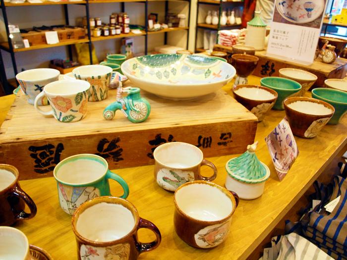 【長谷川風子 陶器フェア】始まりました。_e0031142_18142187.jpg