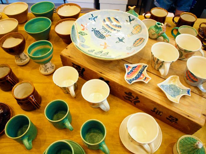 【長谷川風子 陶器フェア】始まりました。_e0031142_18144854.jpg