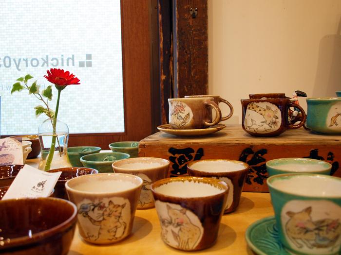 【長谷川風子 陶器フェア】始まりました。_e0031142_1814657.jpg