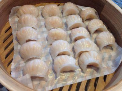 蝦蒸し餃子_a0175348_13581514.jpg