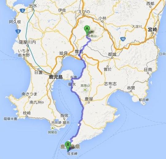 霧島と佐多岬の旅 (3) 九州・本土最南端の佐多岬へ_c0011649_4412783.jpg
