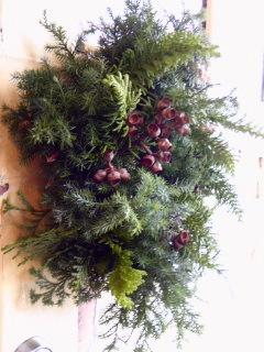 Wreath 。。。_a0229658_1732833.jpg