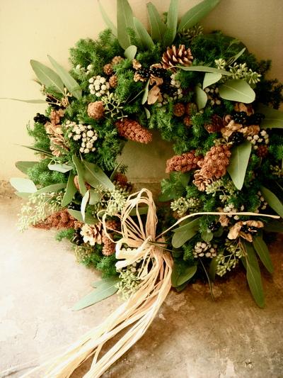 Wreath 。。。_a0229658_1748211.jpg