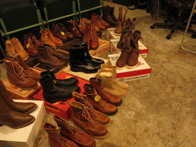 """VINTAGE BOOTS COLLECTION\""ってこんなこと。_c0140560_11443087.jpg"