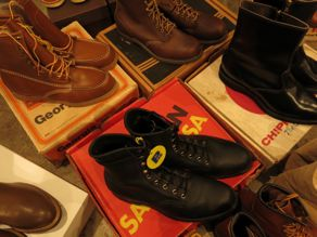 """VINTAGE BOOTS COLLECTION\""ってこんなこと。_c0140560_11502621.jpg"